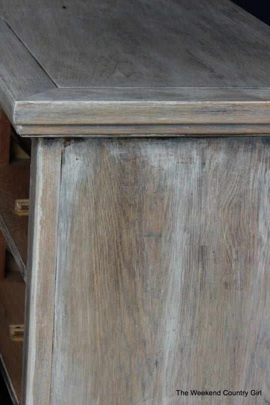 Create a rustic look with wood stain 03 by The Weekend Country Girl on @Remodelaholic