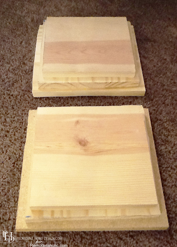DIY Bases for Pedstal Accent Table