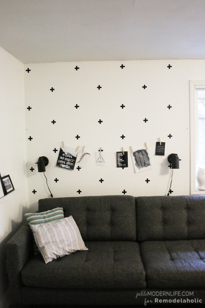 Best This DIY Swedish Cross Wall is a fantastic way to add character to any wall for
