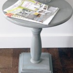 DIY Pedestal Accent Table Horizontal