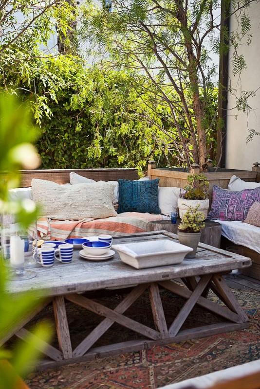 DIY trestle table plans2 @remodelaholic