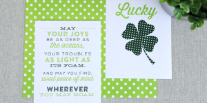 Get ready for St. Patrick's Day with these Irish inspired art printables from Elegance and Enchantment, for Remodelaholic { 3 free printables included }