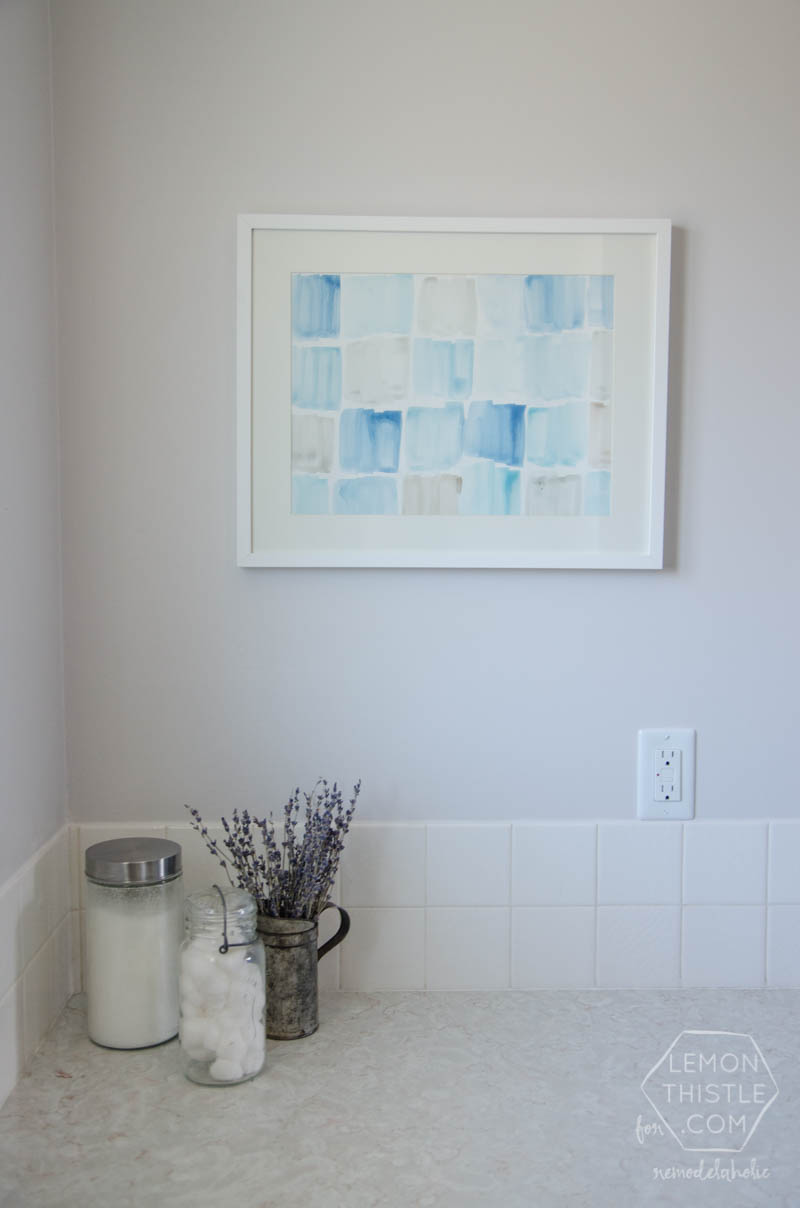add a touch of color to any room any style with this free printable - Free Printable Bathroom Art