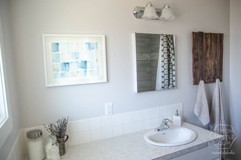 Bathroom Remodel On A Budget remodelaholic | diy bathroom remodel on a budget (and thoughts on