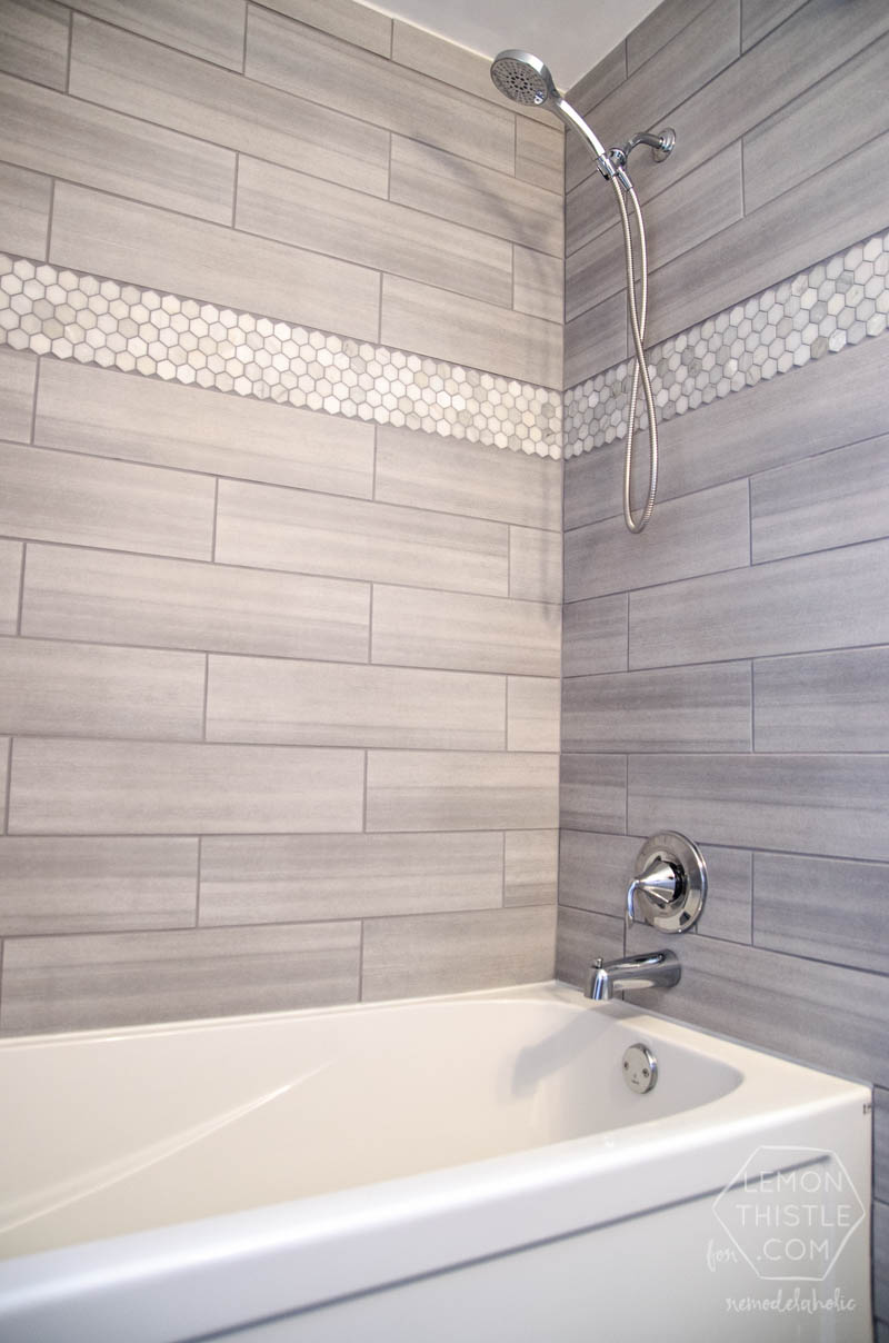 Bathroom Tiles Renovation remodelaholic | diy bathroom remodel on a budget (and thoughts on