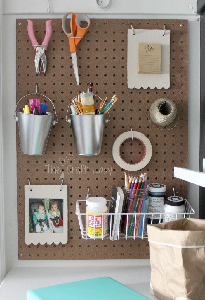 Tiny Home Designs: Making An Organized Closet Office Craft Space