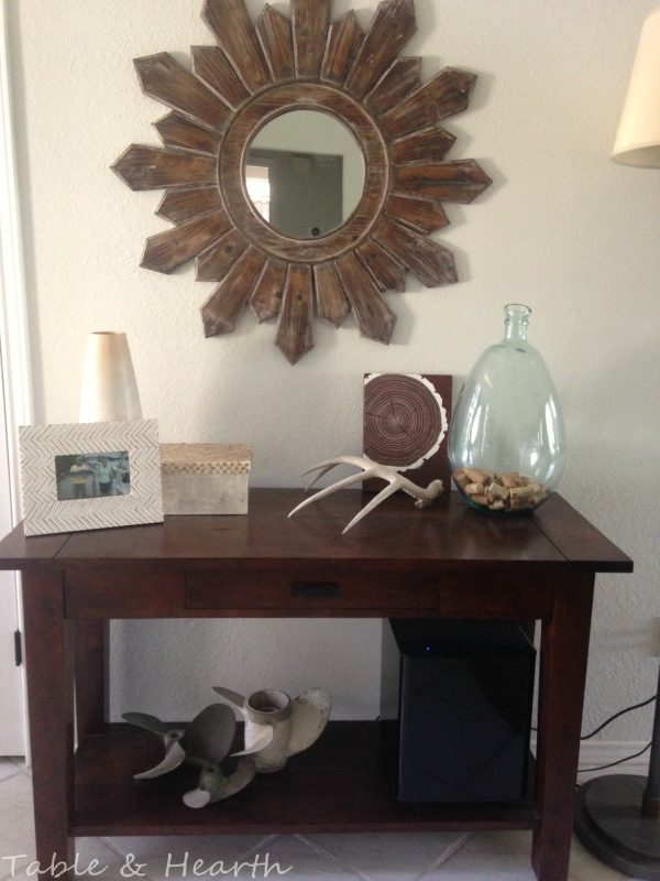 diy metal table top tutorial - Table and Hearth featured on @Remodelaholic (3)