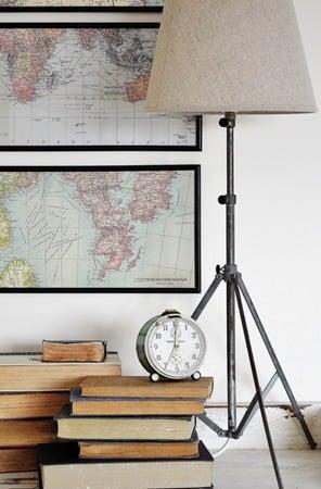 diy tripod lamp tutorial