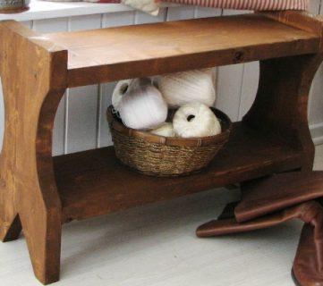 DIY Rustic Farmhouse Bench Tutorial