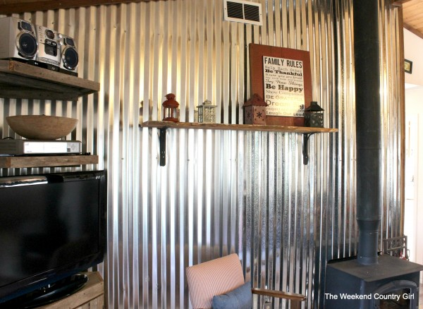 Diy Corrugated Tin Wall Tutorial Remodelaholic Bloglovin
