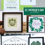 Instant Download Green St Patrick's Day Printables, Remodelaholic
