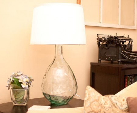 pottery barn west elm knock off lamp from vase