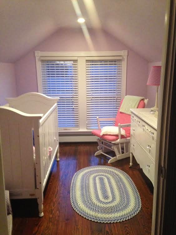 walk-in closet turned nursery This Little Life