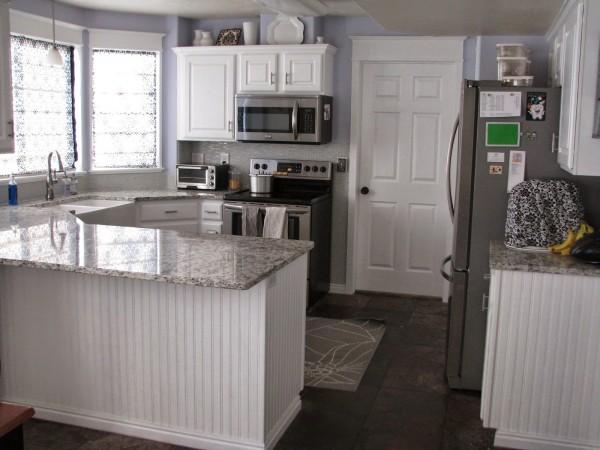 white kitchen makeover My So Called DIY Blog