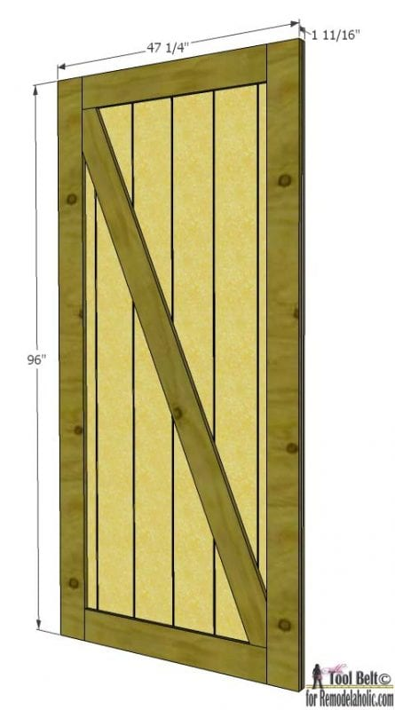 35 diy barn doors rolling door hardware ideas remodelaholic bloglovin. Black Bedroom Furniture Sets. Home Design Ideas