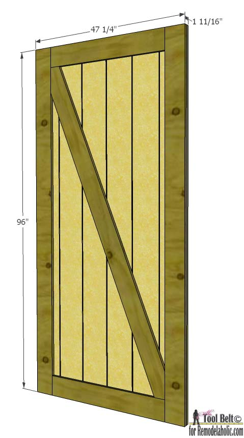 Genial How To Build A DIY Barn Door