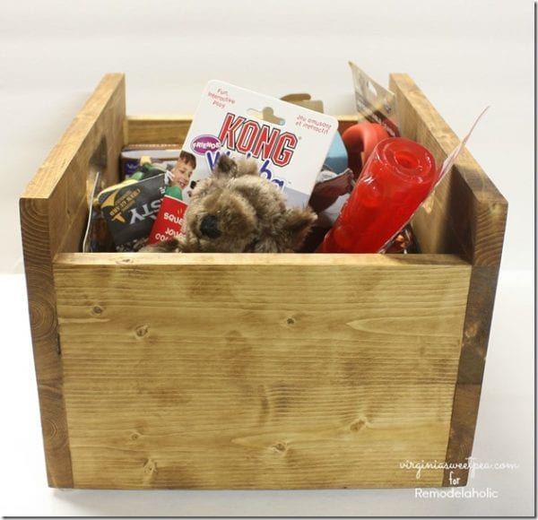 Building a Wood Storage Crate by Virginia Sweet Pea featured on @Remodelaholic