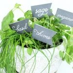Herb Garden Labels by Paperelli @Remodelaholic