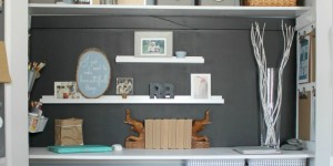 Closet-turned-home-office-and-craft-space-The-Crazy-Craft-Lady-featured-on-@Remodelaholic