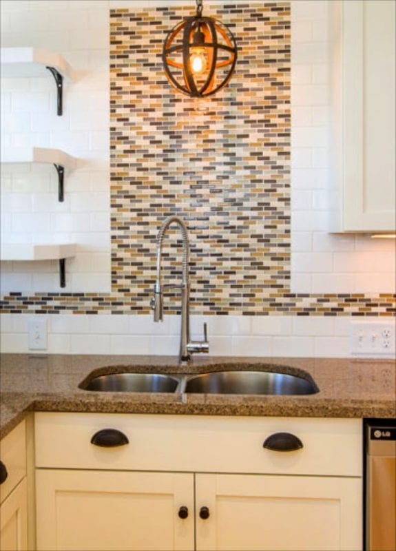 Creating an open traditional contemporary kitchen - SoPo Cottage on @Remodelaholic