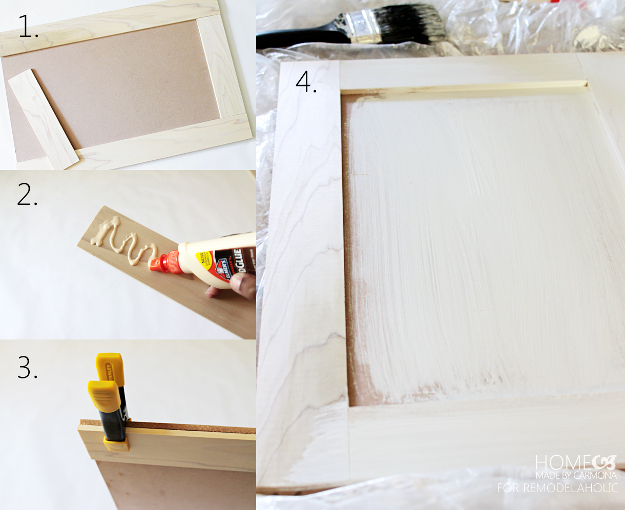 Diy Cabinet Doors Home Made By Carmona For Remodelaholic