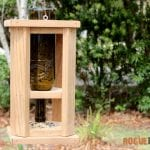 DIY Wine Bottle Bird Feed - Free Tutorial - Rogue Engineer