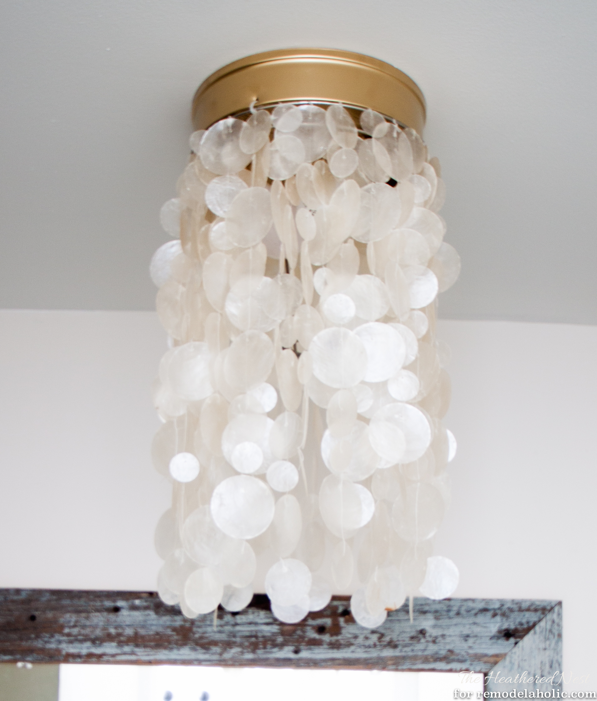 Ban Your Boob Light! Change It To A Drum Shade Or Capiz Fixture In As