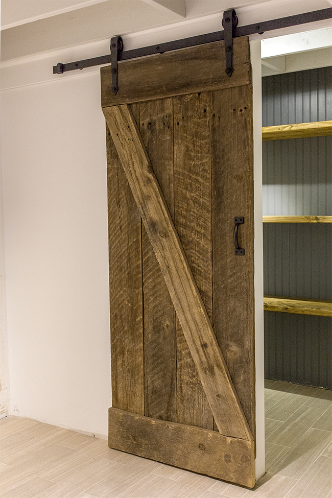 Remodelaholic 35 diy barn doors rolling door hardware ideas - Barn door patterns ...