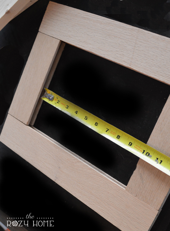 Measure the width and height of the opening.
