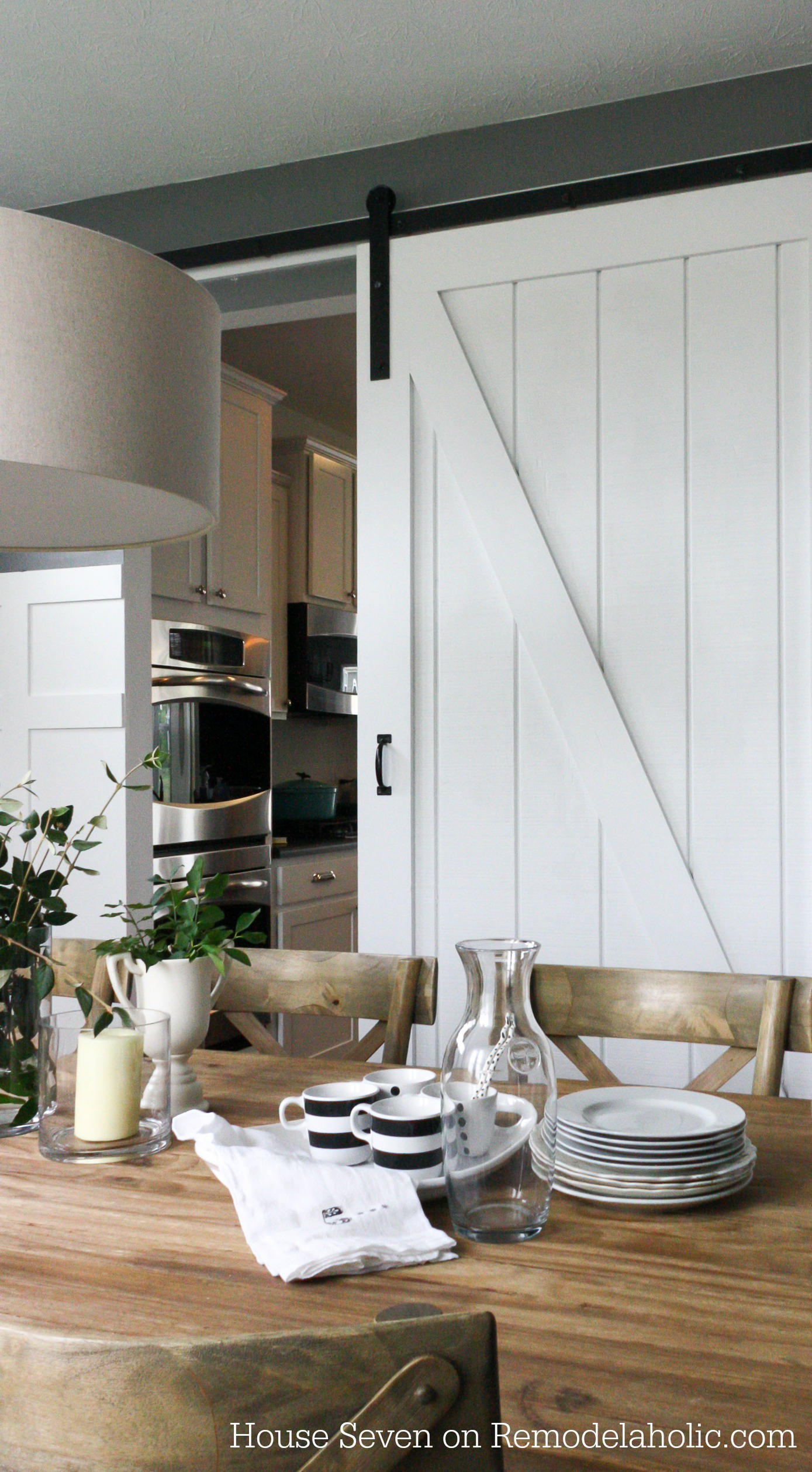 Remodelaholic | Simple DIY Barn Door Tutorial