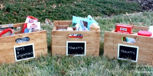 How to Build Wood Storage Boxes by Virginia Sweet Pea featured on @Remodelaholic