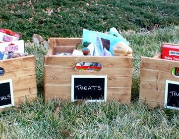Build a Wood Storage Crate with Handles