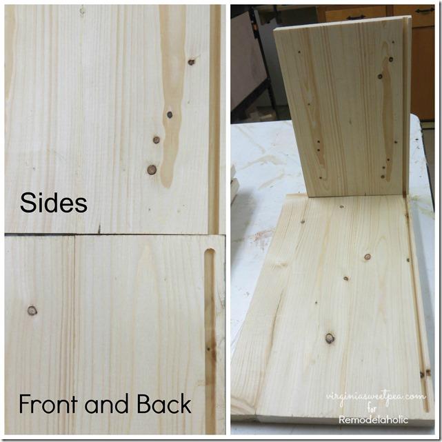 & Build a Wood Storage Crate with Handles | Remodelaholic | Bloglovinu0027