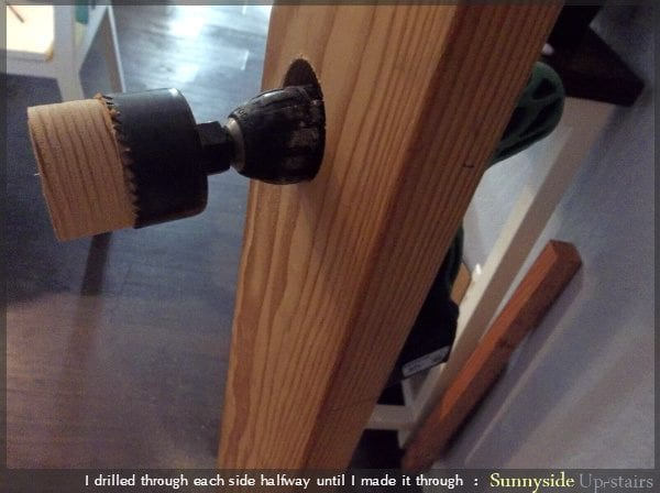 How to Build an Entry Door and Add the Hardware by Sunnyside Up-stairs featured on @Remodelaholic