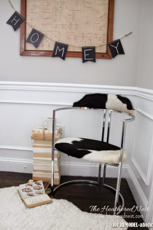 How to Restore Chrome Furniture by The Heathered Nest featured on @Remodelaholic