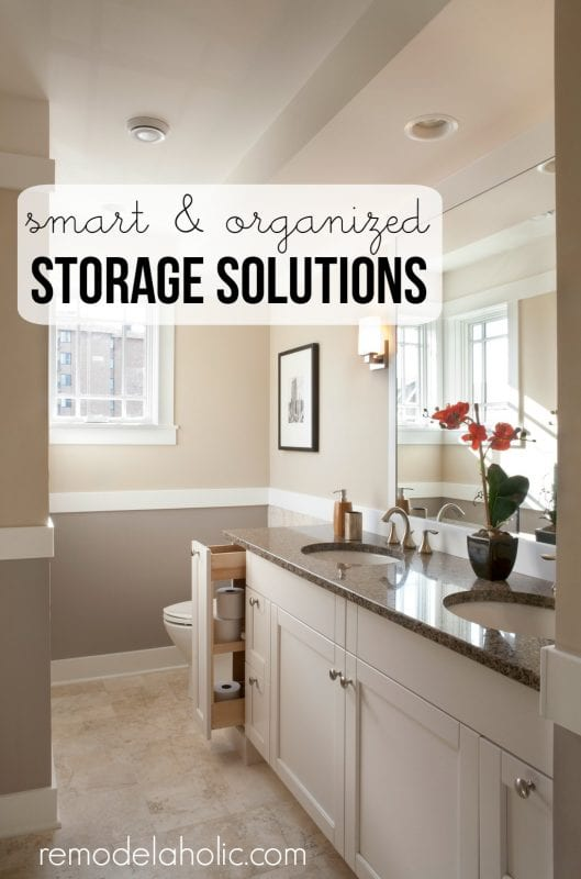 Smart Organizing and Storage Solutions - Make organizing problems disappear with 12 great tips @Remodelaholic