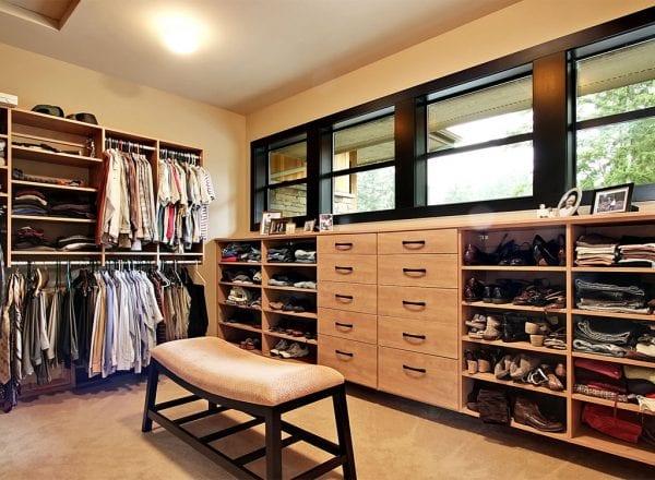 Smart Organizing and Storage Solutions -  master closet @Remodelaholic
