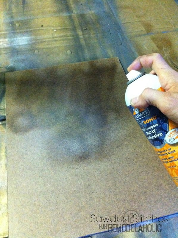 backing rustic frame sawdust2stitches for remodelaholic.com