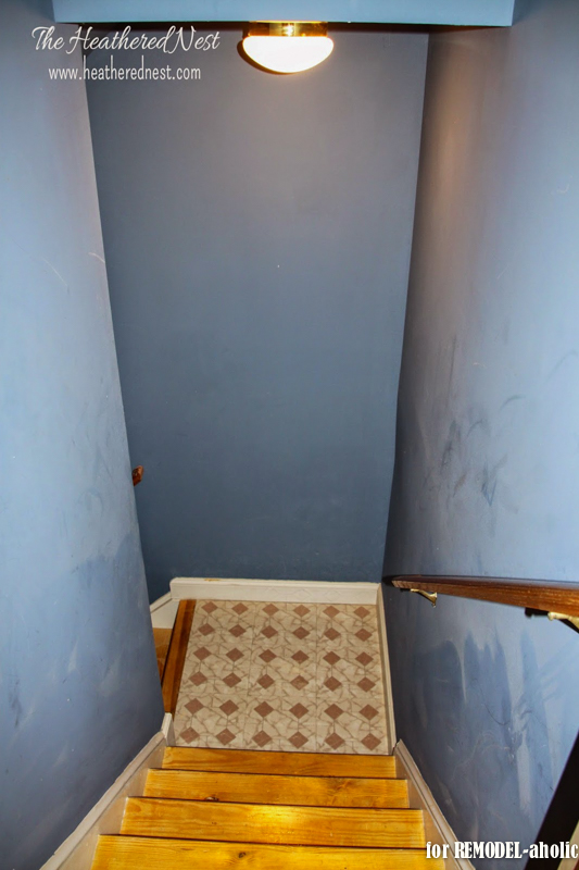 Basement Stairwell Lighting: Ban Your Boob Lights! 2 Easy Ways To Update Basic