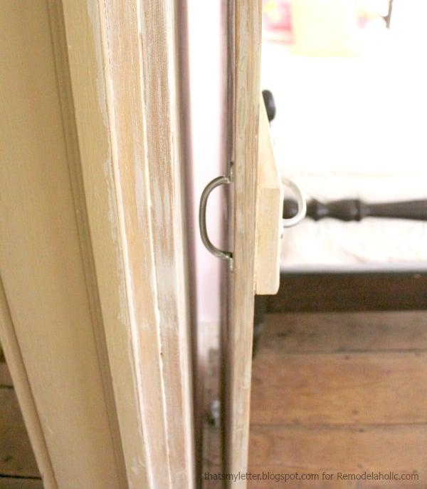 barn door both handles