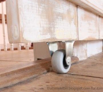 DIY Sliding Barn Door + Inexpensive Hardware