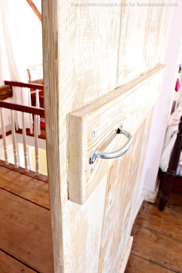 barn door interior handle