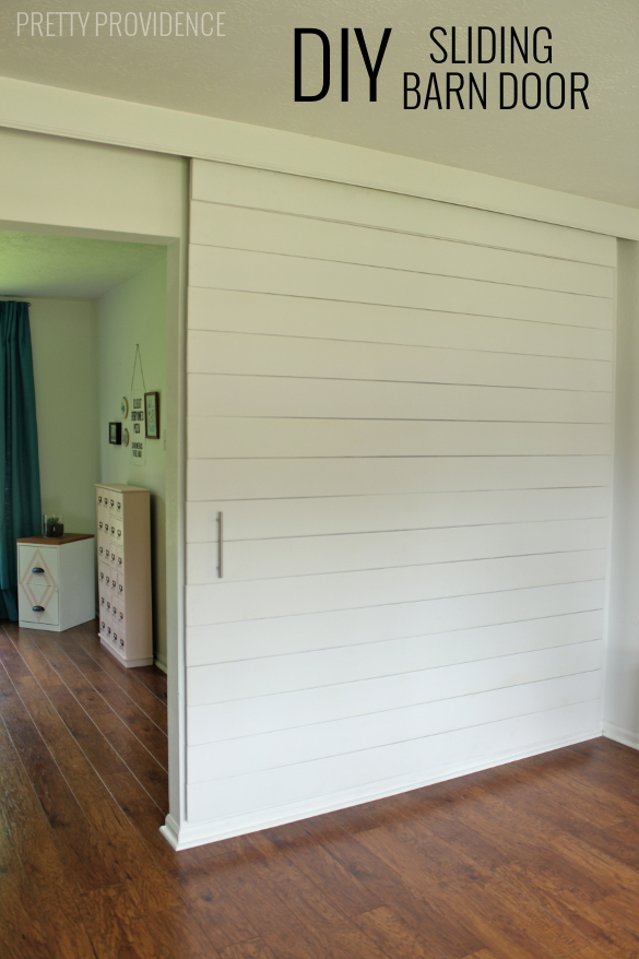 Build An Extra Large Sliding Barn Door With Hidden Hardware To Close Off An  Office
