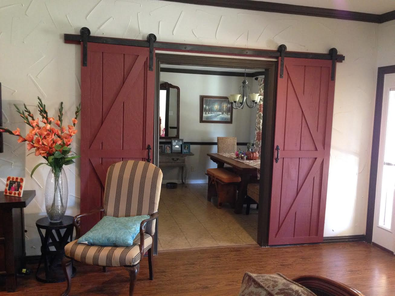 Bypass Barn Door Hardware Remodelaholic 35 Diy Barn Doors Rolling Door Hardware Ideas