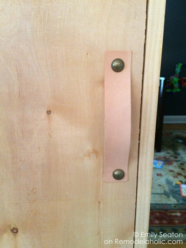 leather diy barn door handle, herringbone wood chevron barn door