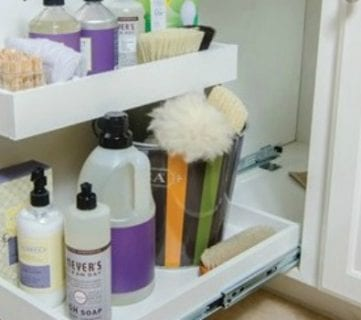 Convenient and Space-Saving Cabinet Organizing Ideas