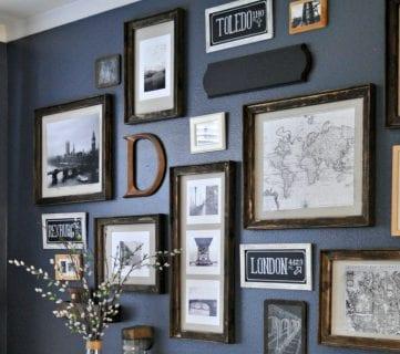 $3 DIY Rustic Frames