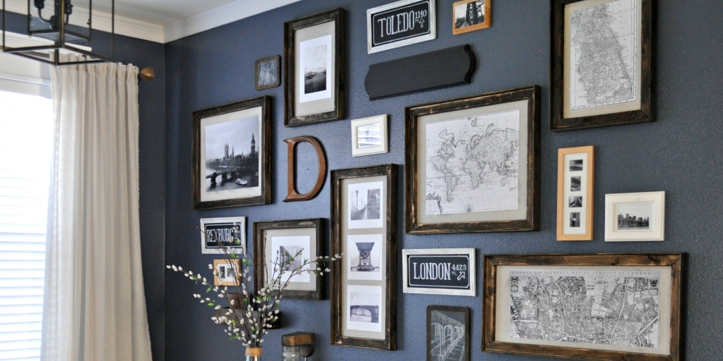 remodelaholic 3 diy rustic frames - Diy Rustic Picture Frame