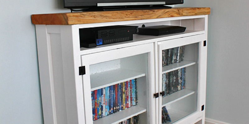 Build a TV Console Using Old Windows