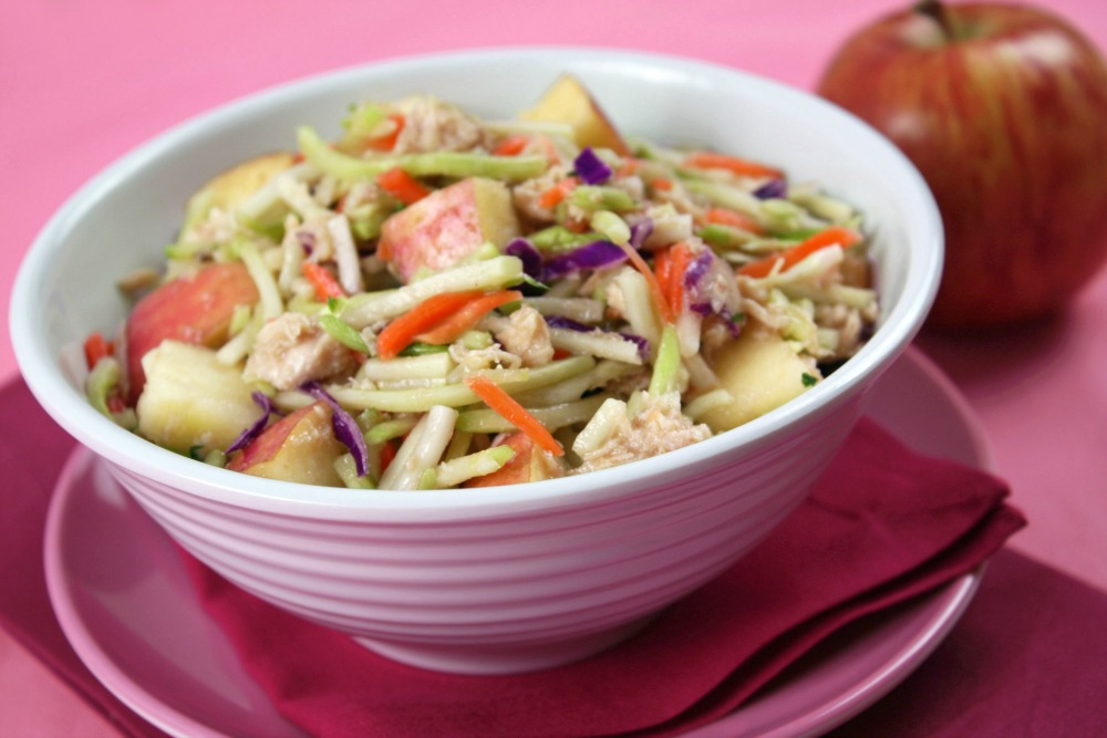 Tuna and Apple Slaw